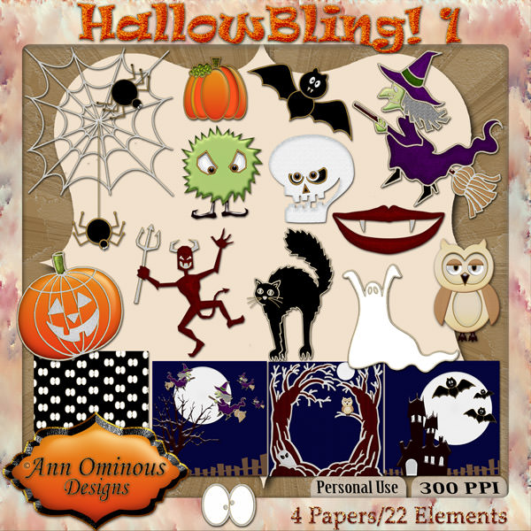 Hallow Bling Mini
