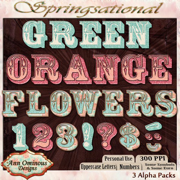 Springsational Alpha Kit ( 3 sets )