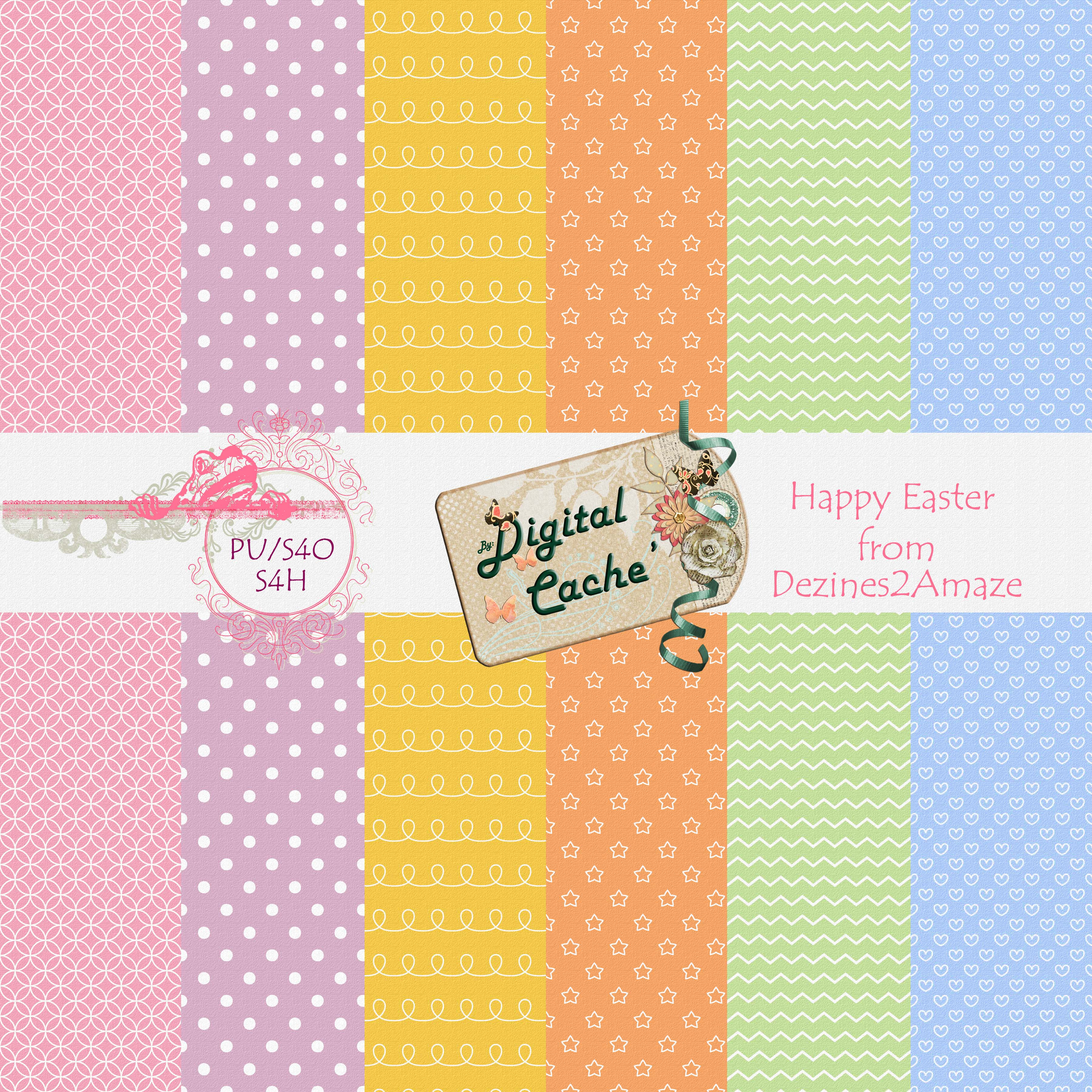 Easter PU Paper Freebie