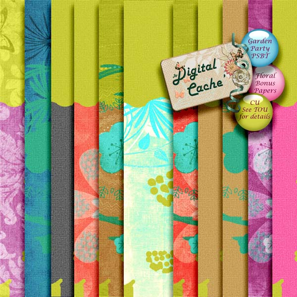 Garden Party add-on Papers