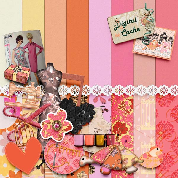 It's Sew You - Scrapbook Kit